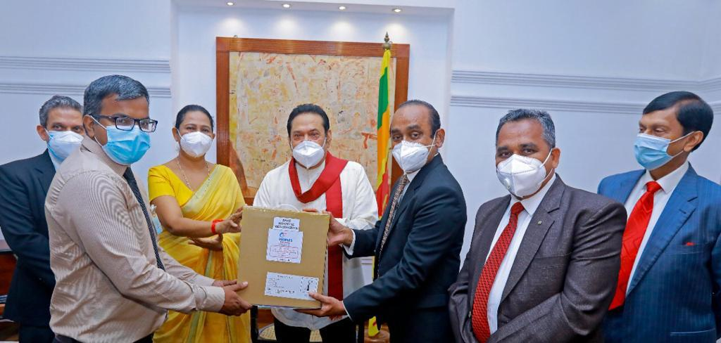 People's Leasing donates Rs. 25 Mn. worth of essential medical equipment to fight COVID – 19